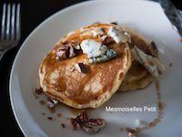 Gorgonzola And Pecan Maple Yeast Pancake
