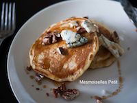 Gorgonzola And Pecan Maple Yeast Pancake