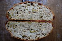 Farewell Post~and A Parmesan Lucques Olive Bread