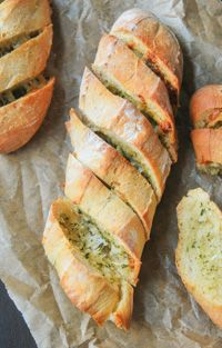 Baguettes With Parmesan And Garlic