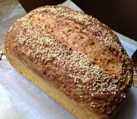 Carrot And Sesame Sandwich Loaf