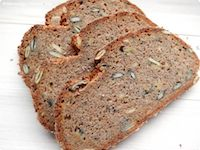 Spelt Wholemeal Bread With Rye And Amaranth Flour