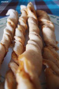 Self Made Cheesy Bread Sticks With Cumin