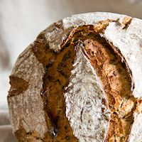 Bear Leek Bread