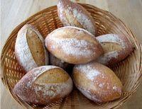 Bauernbr??tchen - Rustic Rolls With Old Dough