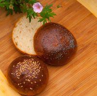 Hamburger Onion Parmesan Buns