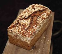 Spelt Whole Meal Bread With Whole Spelt Grains
