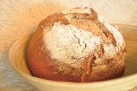 Artisanal Wheat Sourdough Herbal Oregano Bread