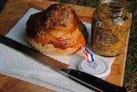 Honey And Mustard Bastille Day Bread