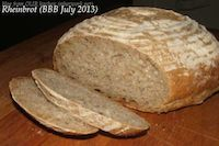 Rheinbrot (bread Made With Riesling)