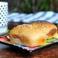 Soy Flour Bread – Mini Loaves