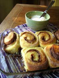 Colossal Sourdough Cinnamon Buns