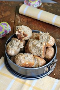 Oat Bread Dinner Rolls