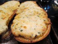 Cheesy Kimchi Butter-Ranch Bread