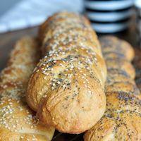 Whole Wheat Sourdough Braids