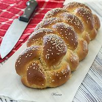 Soft And Rich Challah - Tangzhong Method
