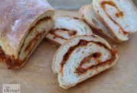 Mediterranean Stuffed Bread