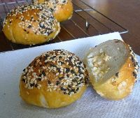 Bagel Bombs (poached)