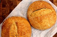 Sourdough Rosemary Bread With Olive Oil