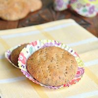 Caraway Fennel Anise Whole Wheat Cakes