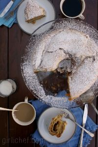 Nut Roll Coffee Cake
