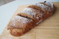 Almond Beer Mixed Rye Bread With Linseed