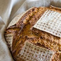 Rye-Wheat Bread With Millet