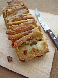 Orange Marmalade-Cranberry Pull-apart Loaf