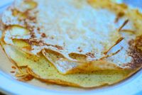Sourdough Coconut Rice Pancakes