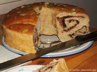 Banana Cinnamon Chocolate Swirls Bread