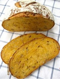 Pumpkin Whey Bread