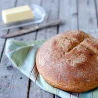 Whole-wheat Cottage Cheese & Herb Loaf