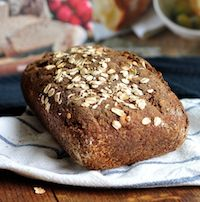 Sourdough Rye Bread With Coffee And Molasses