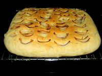 Onion And Rosemary Foccacia