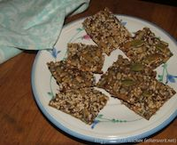 Yeasted Multigrain Crackers (BBB)