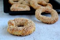 Turkish Simit / Sesame Rings