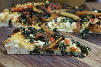 Vegan Sourdough Pizza