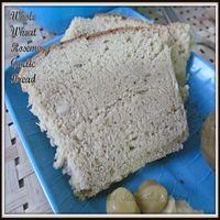 Whole Wheat Rosemary Garlic Bread