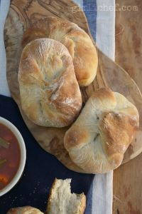 Rustic Potato Rolls Or Buns