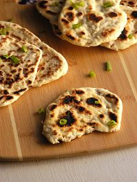 Naan With Shallots And Sea Salt