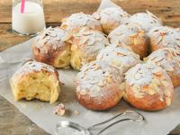 Brioche With Candied Fruit And Almonds
