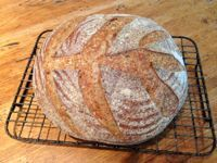 Prize Winning Sourdough Bread