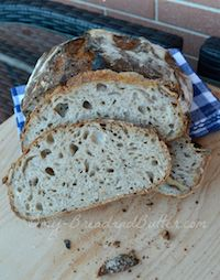 Whole Wheat Bread With Liquid Sourdough