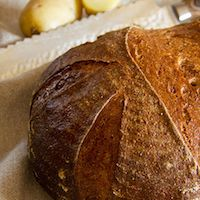 Spelt Potato Bread