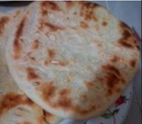 Garlic And Sesame Seed Naan Bread