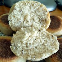 Multigrain English Muffins (Sourdough)