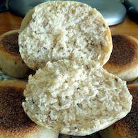 Multigrain English Muffins (Sourdough)