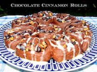 Cinnamon Chocolate Rolls