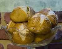 Sourdough German Style Pretzel Rolls
