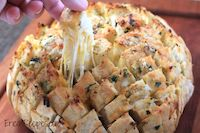 Cheesy Stuffed Garlic Bread